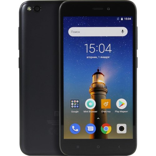 Смартфон Xiaomi Redmi Go 1/16GB Black