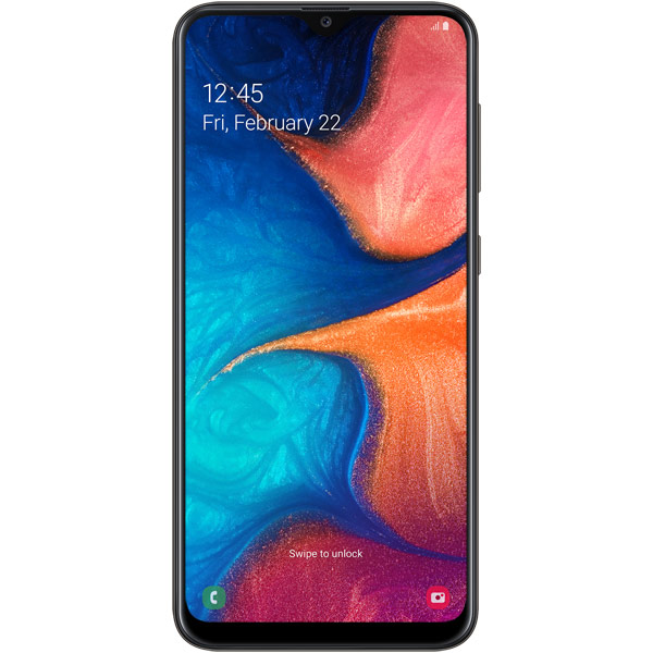 Смартфон Samsung Galaxy A20 Black