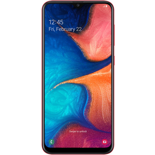 Смартфон Samsung Galaxy A20 Red