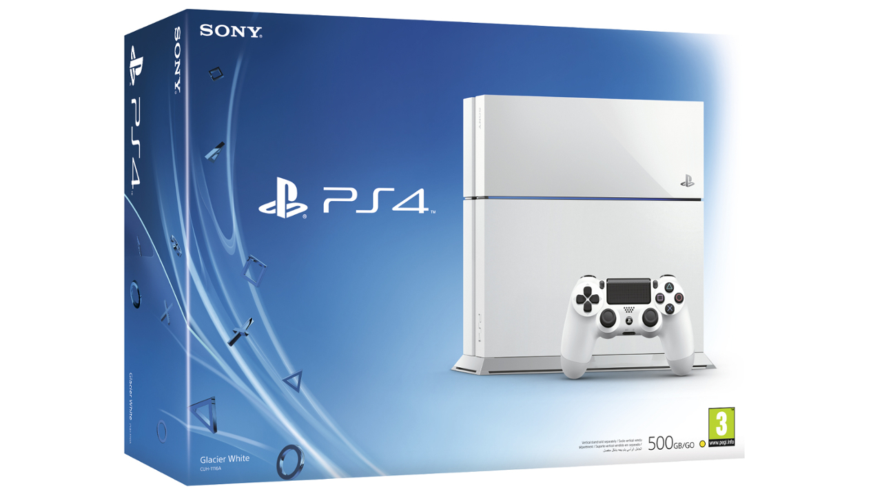 Sony PlayStation 4 500Gb - White