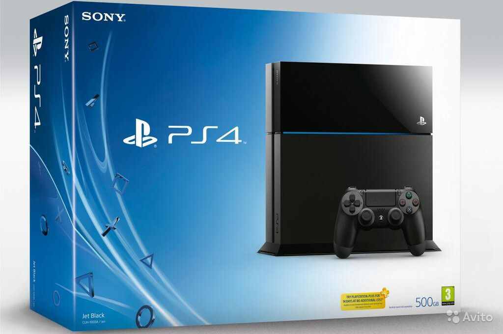 Sony PS 4 500Gb Black
