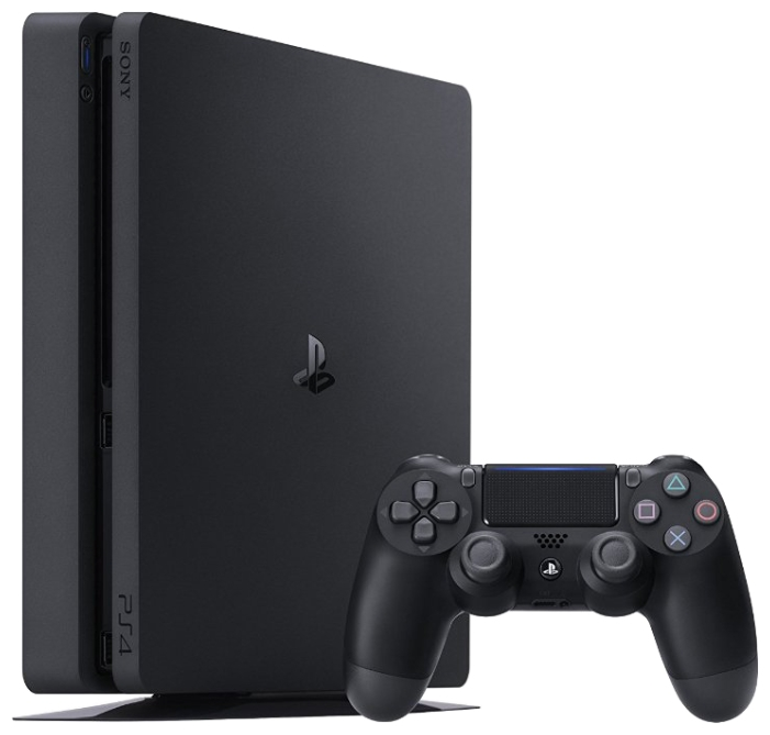 Sony PlayStation 4 Slim Black 500 ГБ