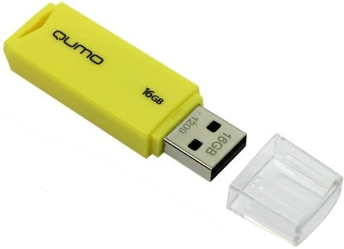 USB-флешка QUMO Tropic 16Gb Yellow