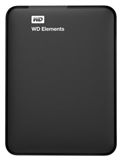Жесткий диск WD Elements Portable 1 TB (WDBUZG0010BBK-EESN)